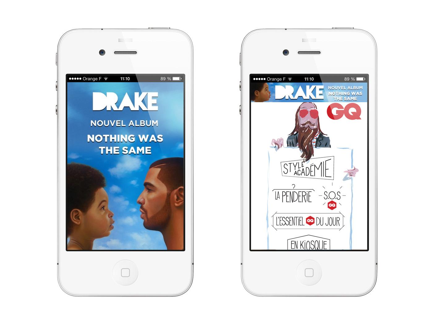 Drake mobile ads
