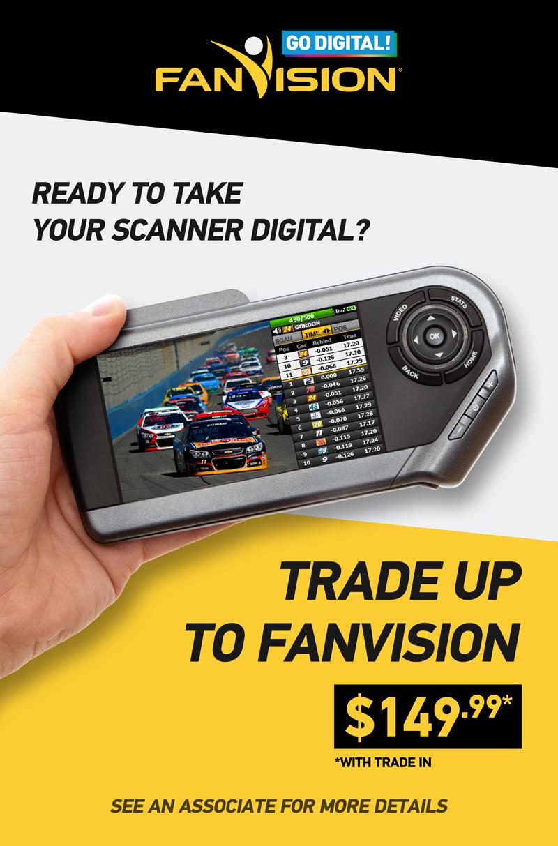 FanVision Sandwich board TradeUp 2015
