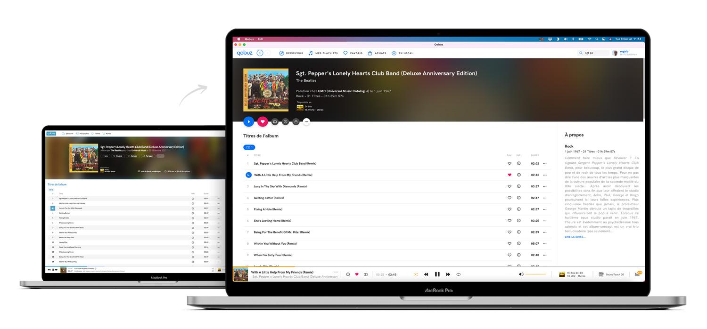 Album Page Desktop