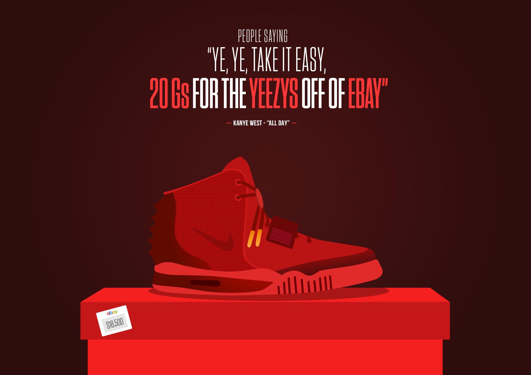 Kanye x Air Yeezy II
